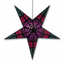 Purple Punch Hanging Star Lantern Whirled Planet Home Decor