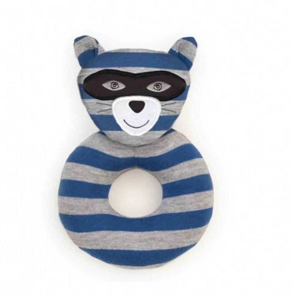 Robbie Raccoon Teething Rattle Apple Park Baby