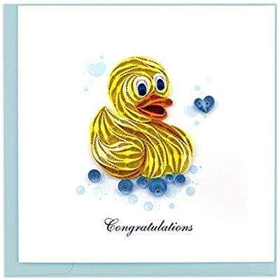 Rubber Ducky Congratulations Quilling Card Quilling Card Llc Cards