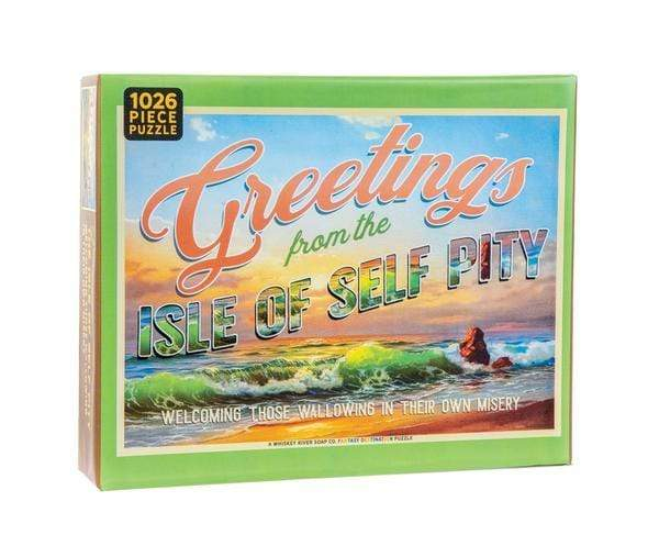 Self Pity Puzzle Whiskey River Soap Company Puzzles