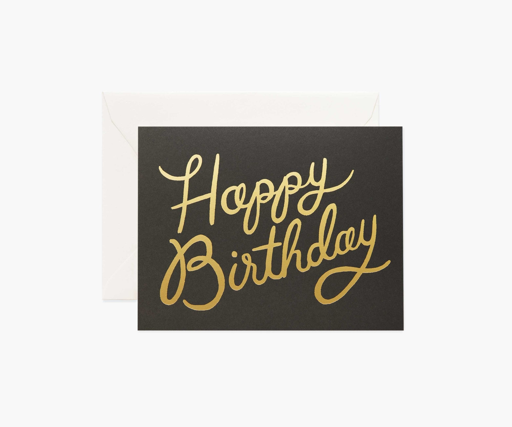 Shimmering Birthday Card Rifle Paper Co Cards