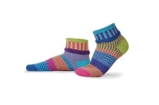 Solmate Ankle Socks - Bluebell Solmate Socks Clothing