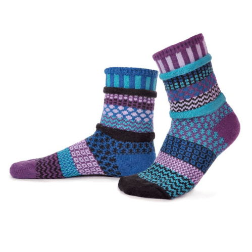 Solmate Crew Socks - Raspberry Solmate Socks Clothing