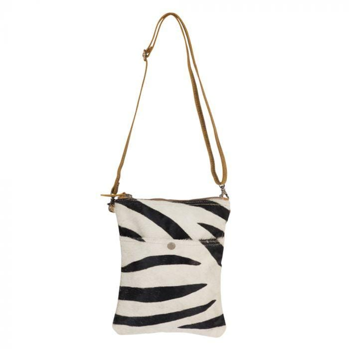 Stripey Leather Crossbody Bag Myra Handbags & Accessories Accessories