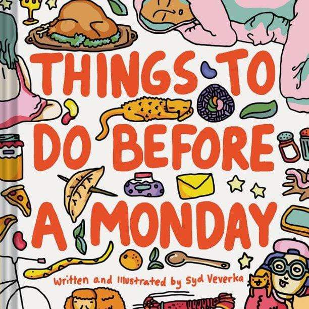 Things To Do Before A Monday Hachette (Chronicle Books) Paper Goods