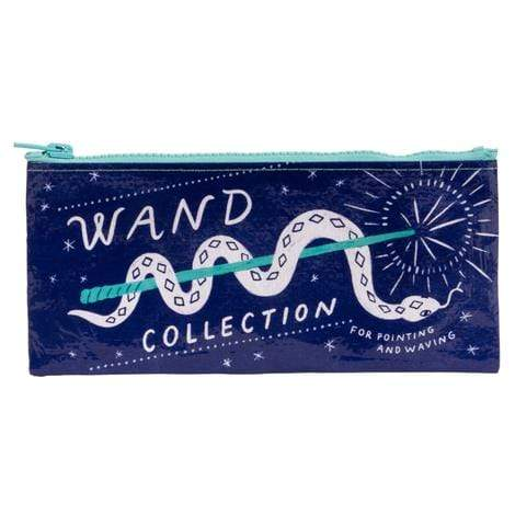 Wand Collection Pencil Case Blue Q Fun Stuff