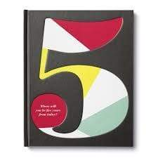 Where Will You Be 5 Years From Now Book Compendium Books & Journals