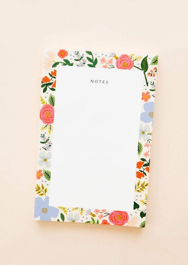 Wild Rose Notepad Rifle Paper Co Paper Goods
