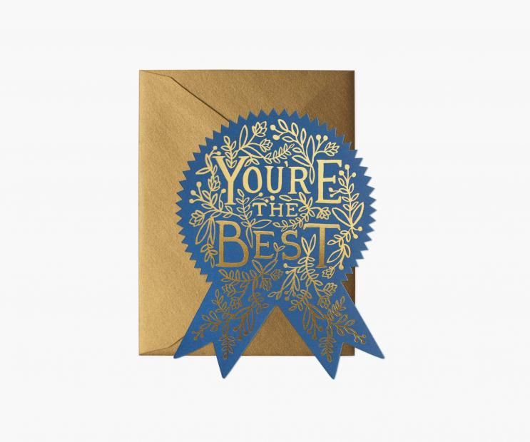 You're The Best Greeting Card Rifle Paper Co Cards