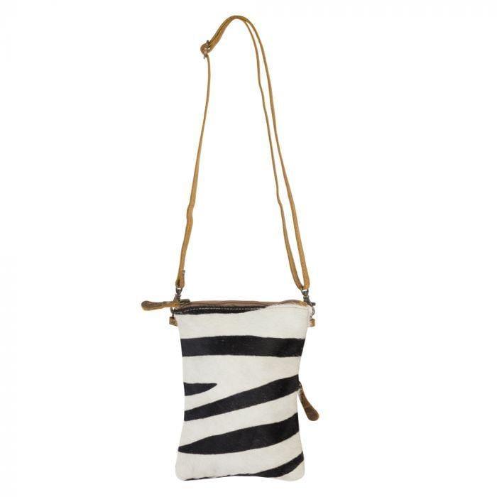 Zebra Queen Crossbody Bag Myra Handbags & Accessories Accessories
