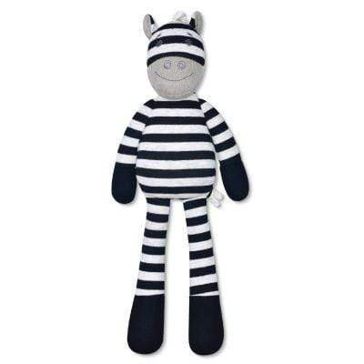 Ziggy Zebra Plush Toy Apple Park Baby