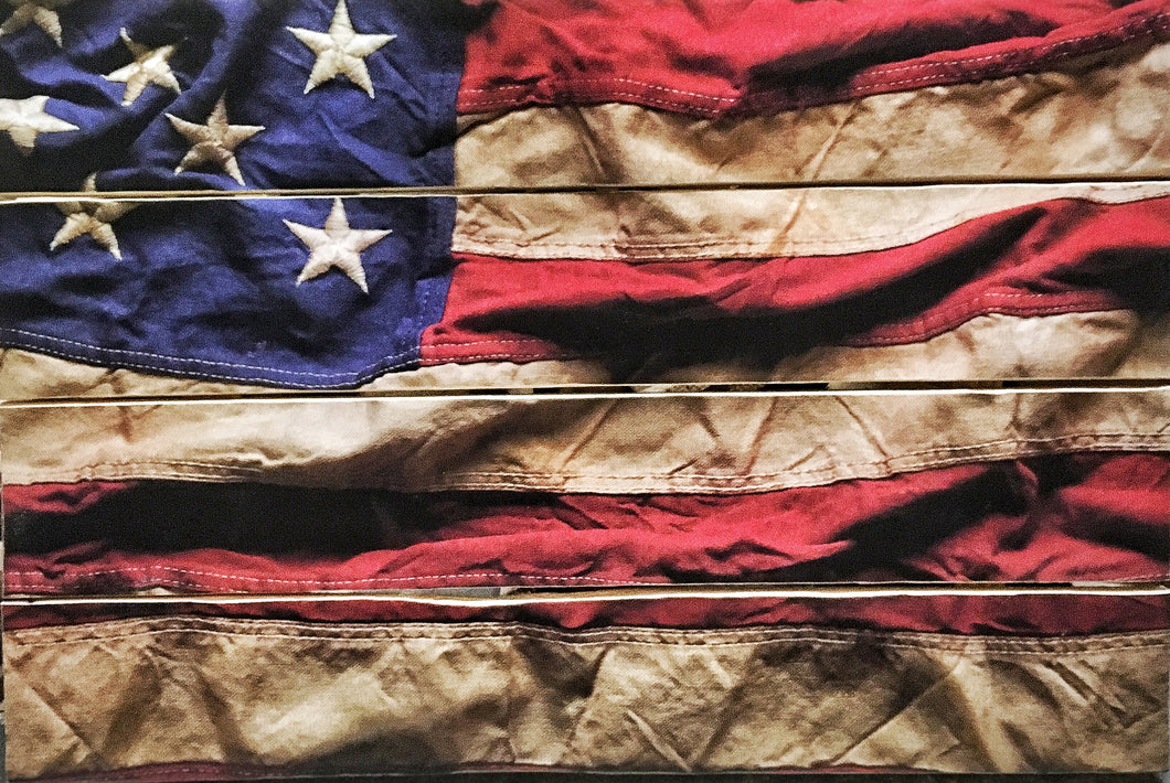 Ol Glory Flag Stock Pallet