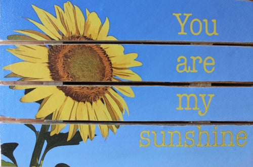 You are my Sunshine Pallet