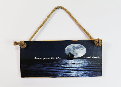 Love You to the Moon Hanger Stock Pallet