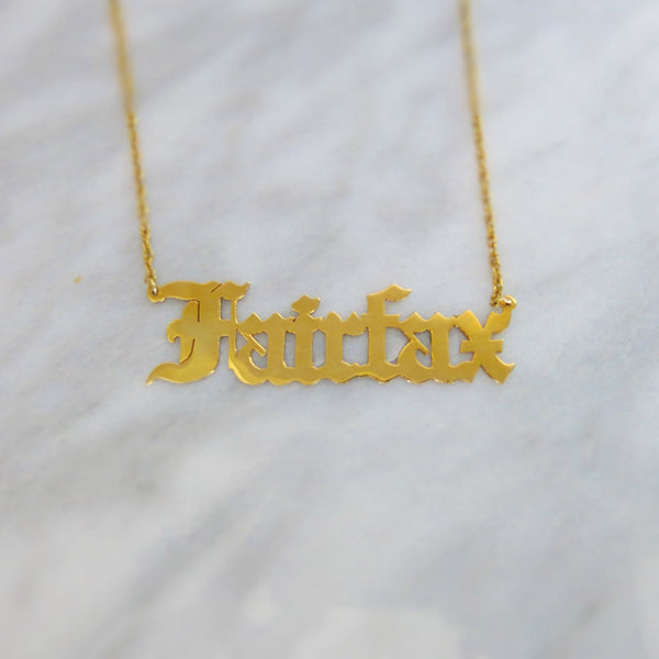 Fairfax necklace
