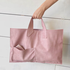Soft Pink Leather Bag