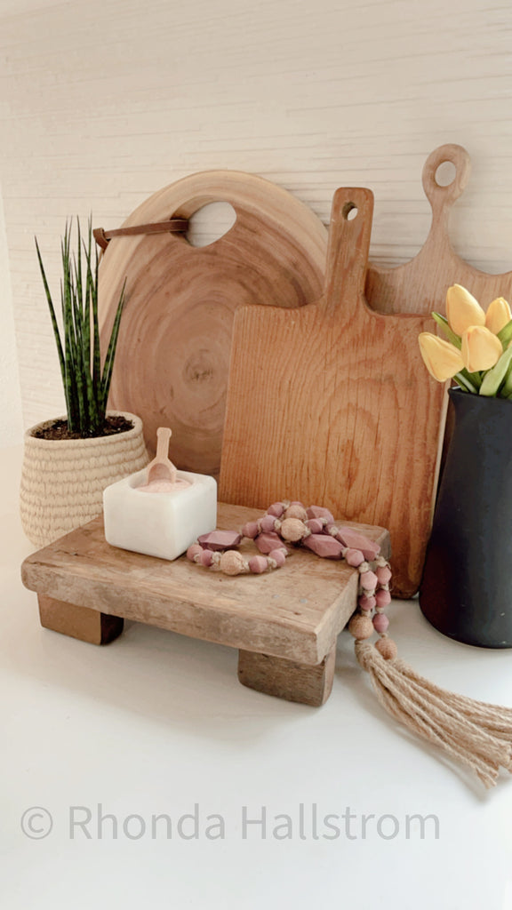 Farmhouse Vintage Bread Board    27