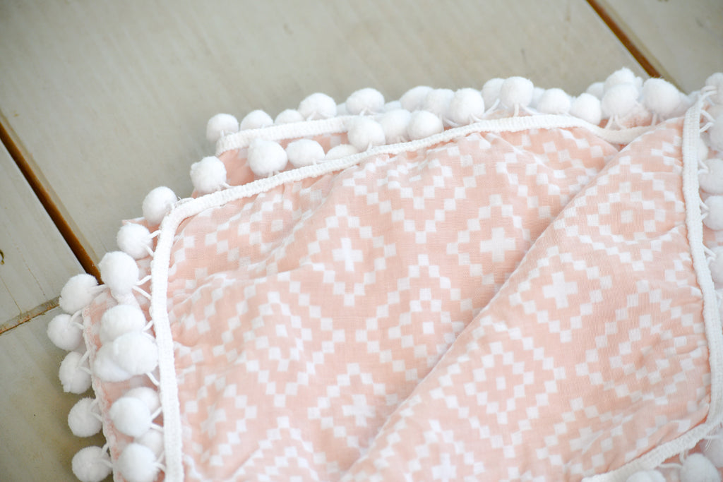 girls baby blanket