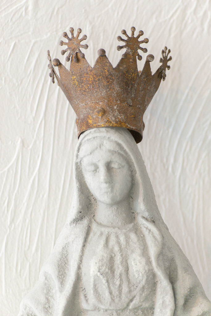 Virgin Mary French Statue