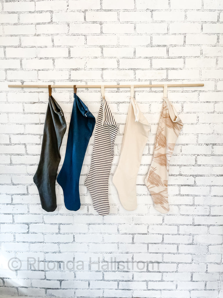 Long Nordic Christmas Stockings