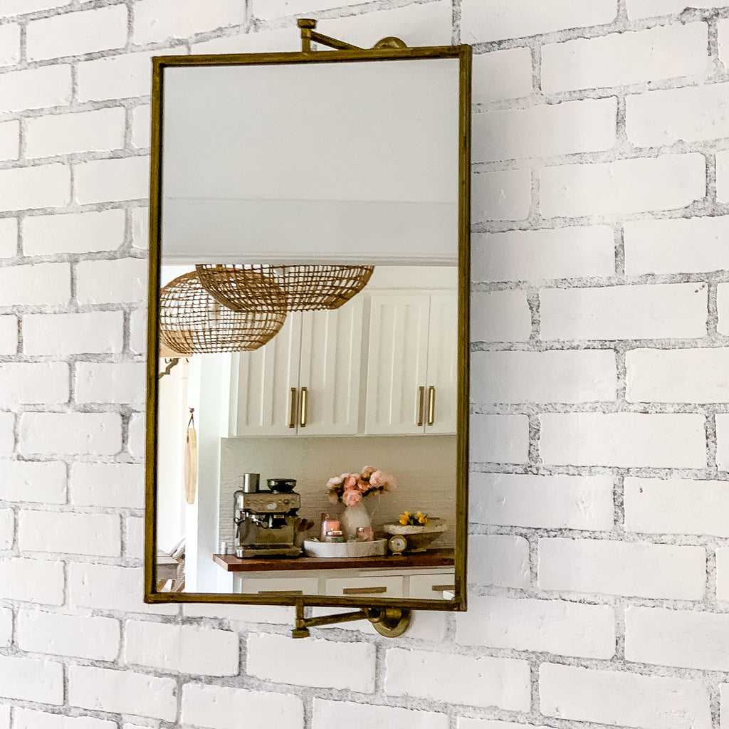swivel vanity mirror