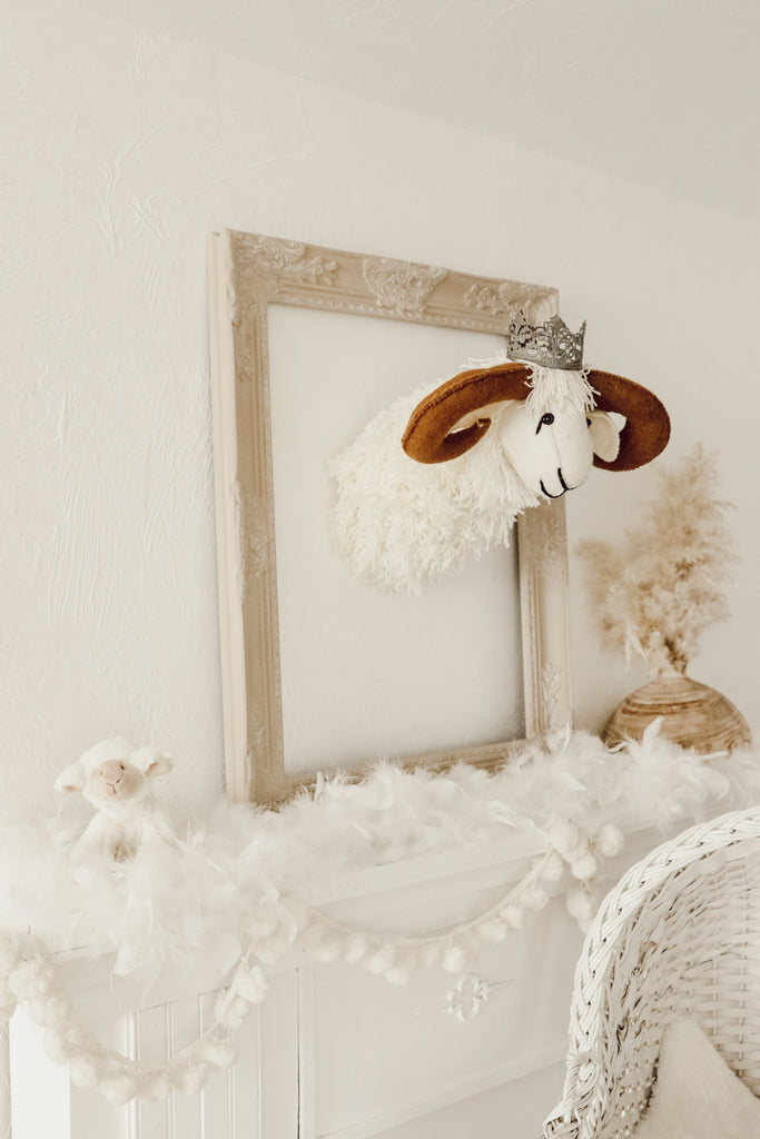 Ram Head Wall Decor Mount
