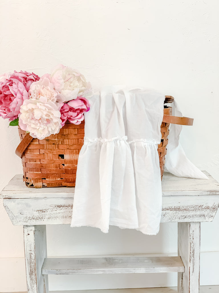 French Cotton Tea Towel/ Farmhouse Decor