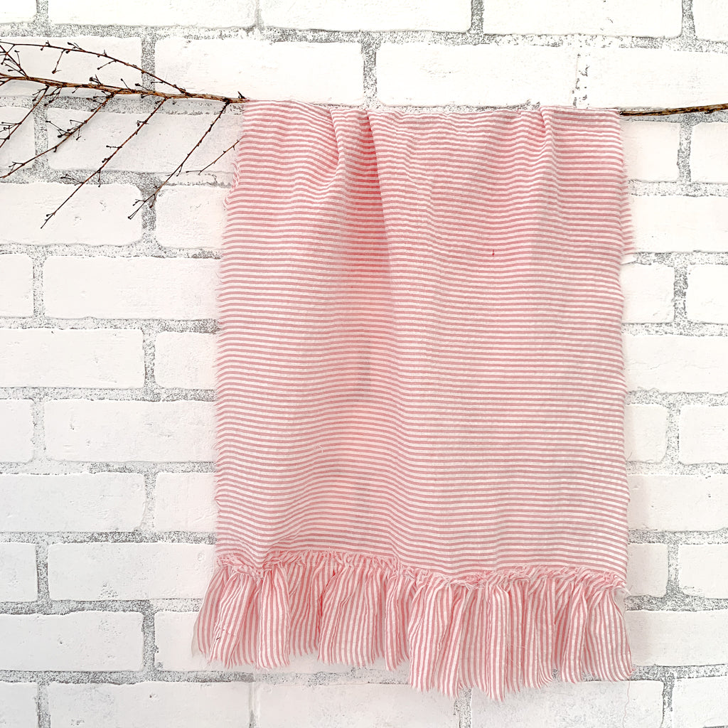 ruffle tea towel