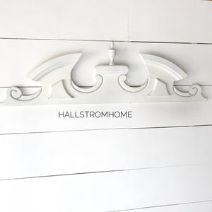 White Farmhouse Finial