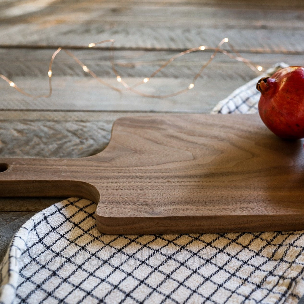 walnut wood cutting board hand made
