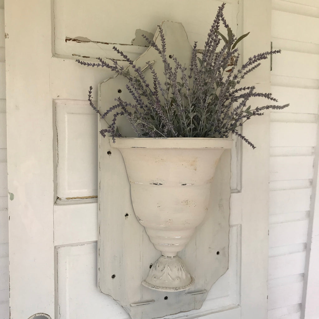 Wall Flower Urn Farmhouse Decor