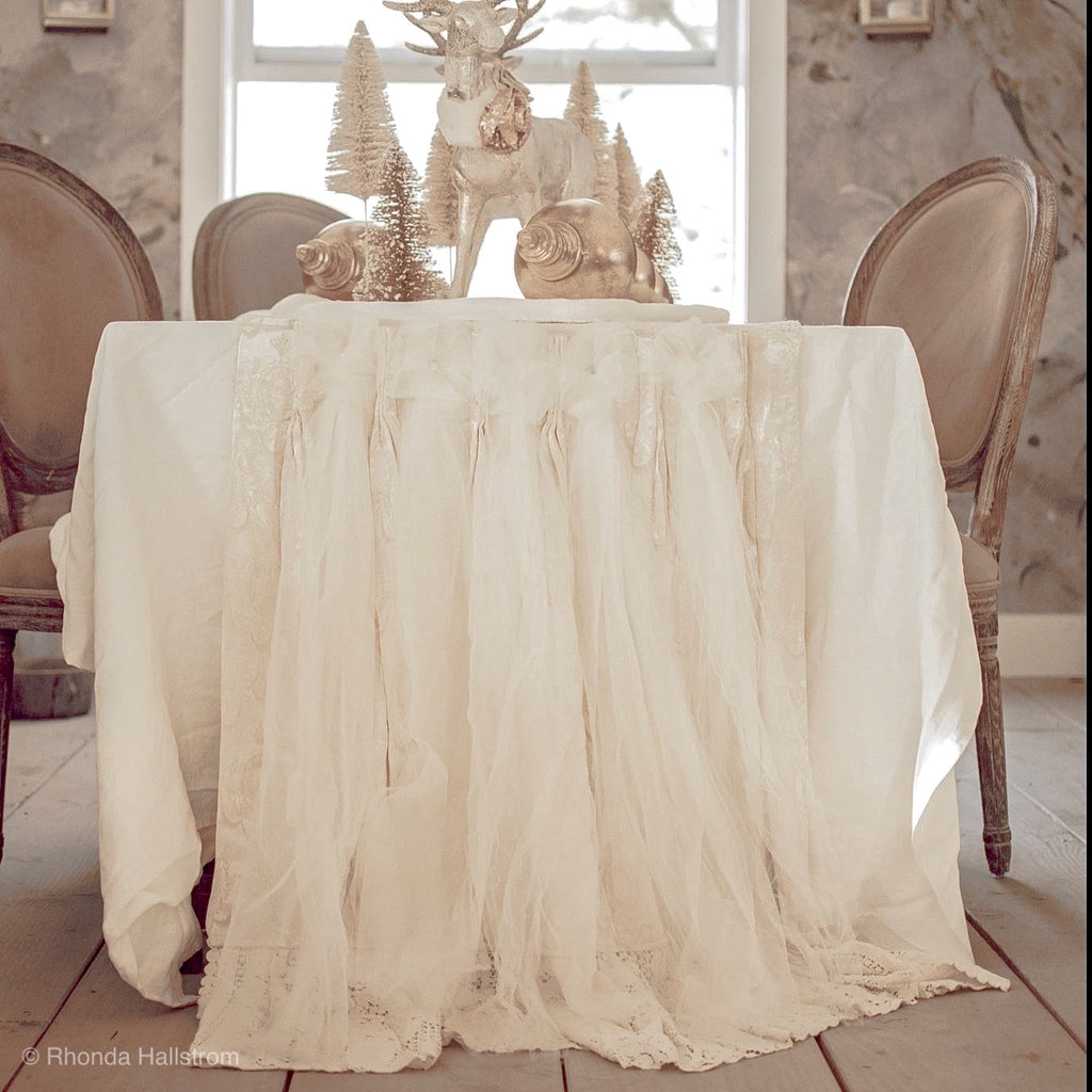 Wedding Burlap Table Runner