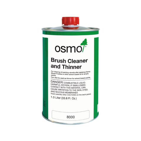 Osmo - 8000 Brush Cleaner/Thinner - 1 Liter