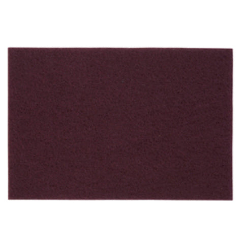 Norton - Hand Pads - 6x9 inch - Maroon (Fine) - 20 Count