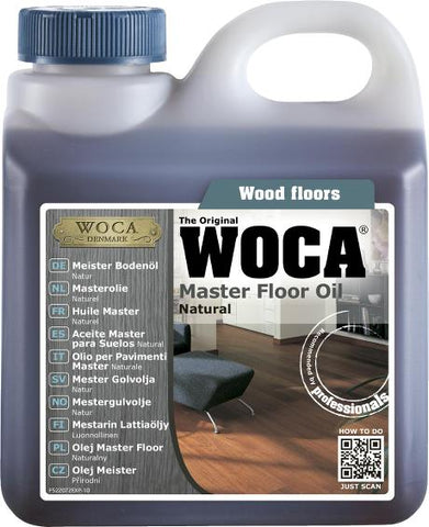 WOCA - Master Oil - Natural - 1 Liter - 522072AA