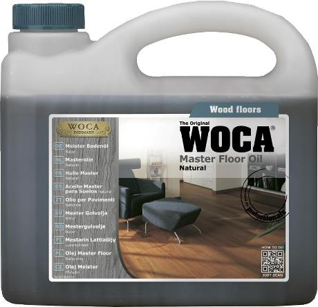 WOCA - Master Oil - Natural - 2.5 Liter - 522073AA