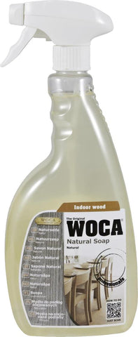 WOCA - Natural Soap Spray - Natural - 0.75 Liter - 510900A