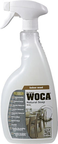 WOCA - Natural Soap Spray - White- 0.75 Liter - 510901A
