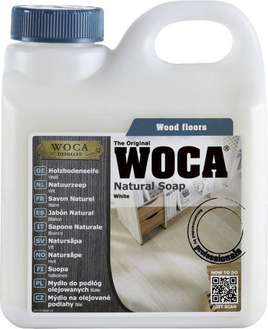 WOCA - Natural Soap - White - 1 Liter - 511110A