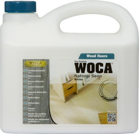 WOCA - Natural Soap - White - 2.5 Liter - 511125A
