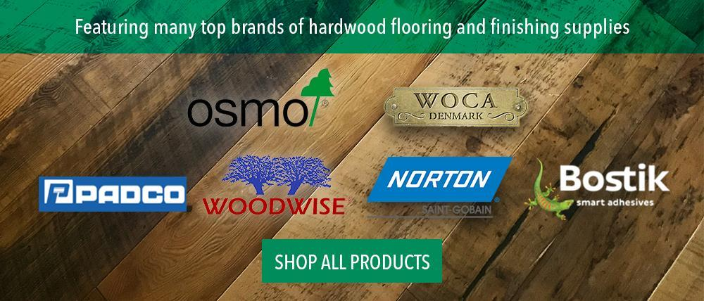 Osmo, Woca, Woodwise, Bostik, Padco, Norton Flooring Supplies and Finishes