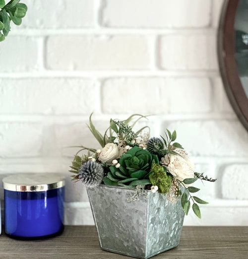 Artificial Airplant Succulent Sola Flower arrangement