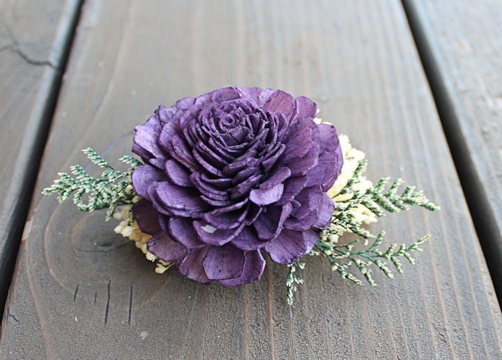 Mother of the Bride Corsage- Sola Flowers, Wood Flowers, Wedding Flowers, Mother of the Groom
