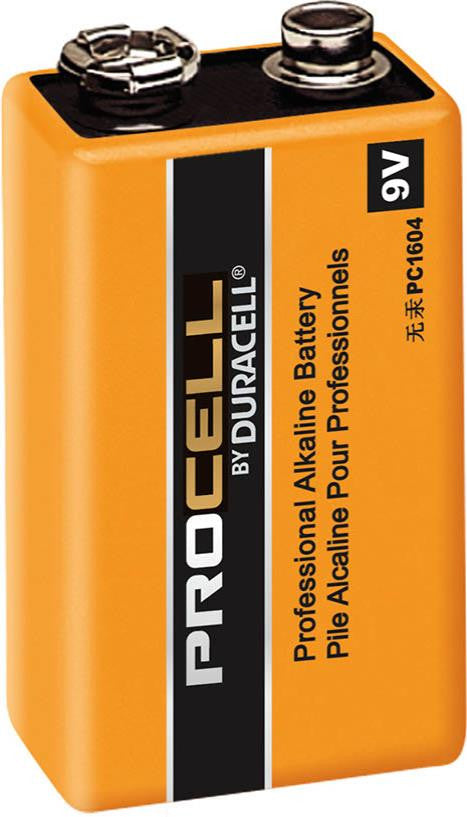 9V Duracell Procell - 12 Pack