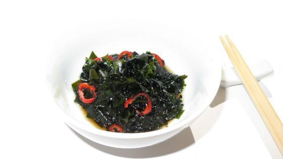 Asian Salad with Atlantic Wakame Recipe