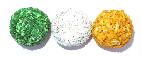 Energy Balls - Irish Flag