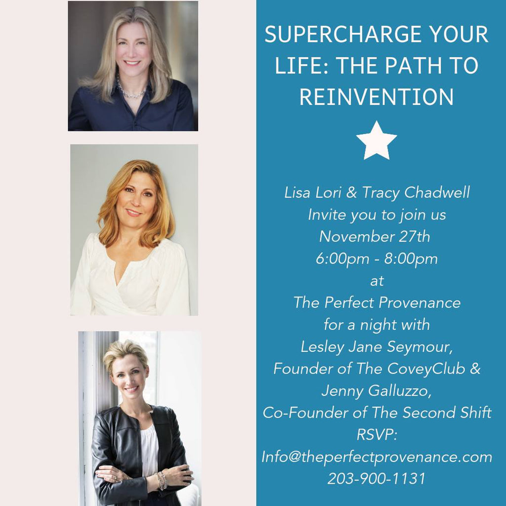 Supercharge Your Life: The Path To Reinvention -- November 27