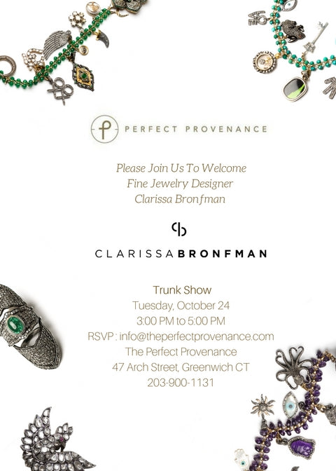 Clarissa Bronfman Fine Jewelry Trunk Show at The Perfect Provenance