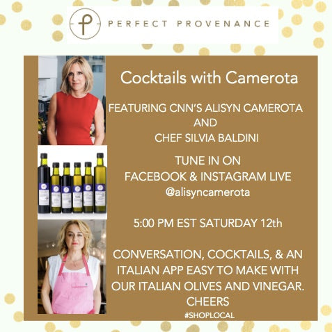 Cocktails with Alisyn Camerota & Chef Silvia Baldini December 12