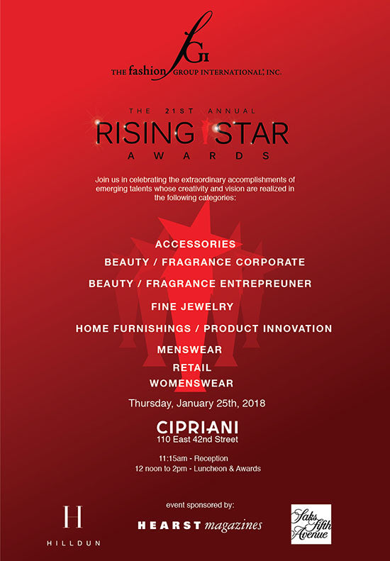 Rising Star Awards Fashion Group International